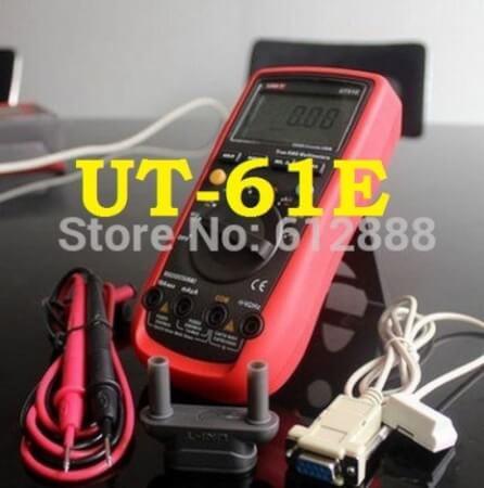 Обзор покупки из Китая профессионального мультиметра Uni-t UT-61E