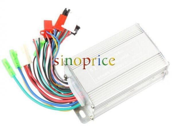 8-in-1  36 В / 48 В 350 Вт  контроллер для электроскутера. Многофункциональный и дешевый.