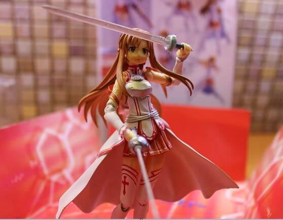 Sword Art Online - Asuna - Figma  - Асуна - Фигурка из аниме с алиэкспресс честный обзор
