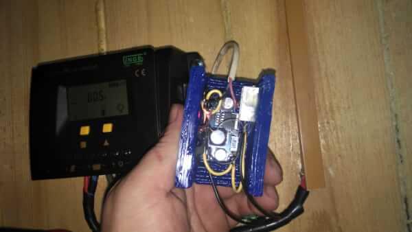 Автоматика для подсветки от 10 до 35 Вольт в ночное время Демонстрация